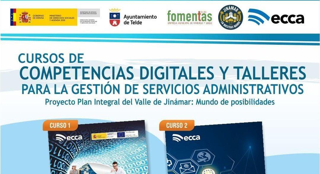 RADIO ECCA OFRECE FORMACIÓN SOBRE COMPETENCIAS DIGITALES A TRAVÉS DEL PLAN INTEGRAL DEL VALLE DE JINÁMAR