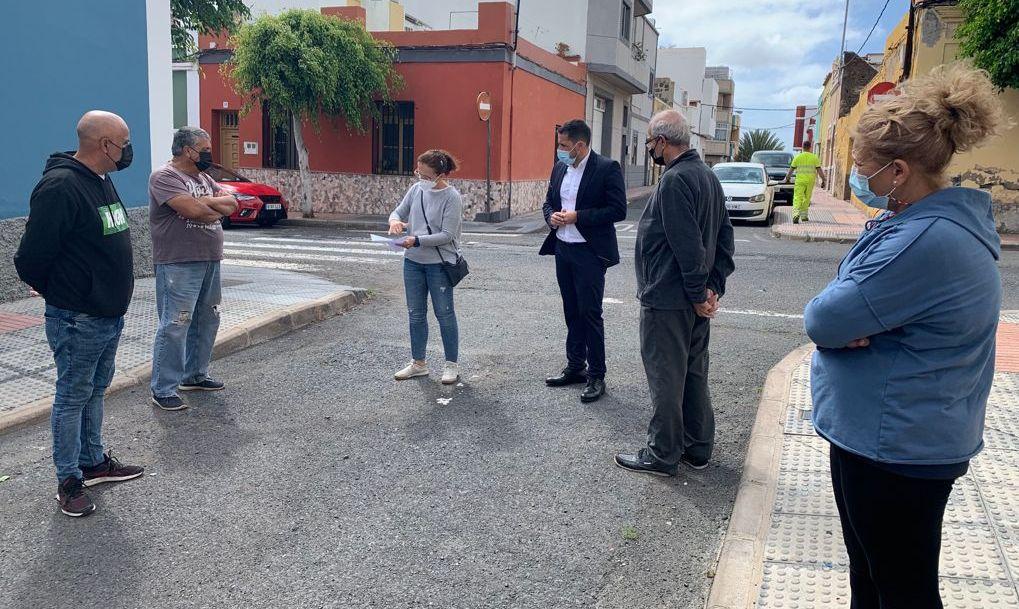 ESTE AÑO SE CONECTARÁN A LA RED DE SANEAMIENTO LAS VIVIENDAS DE EL EJIDO (TELDE) QUE ESTÁN PENDIENTES DE HACERLO