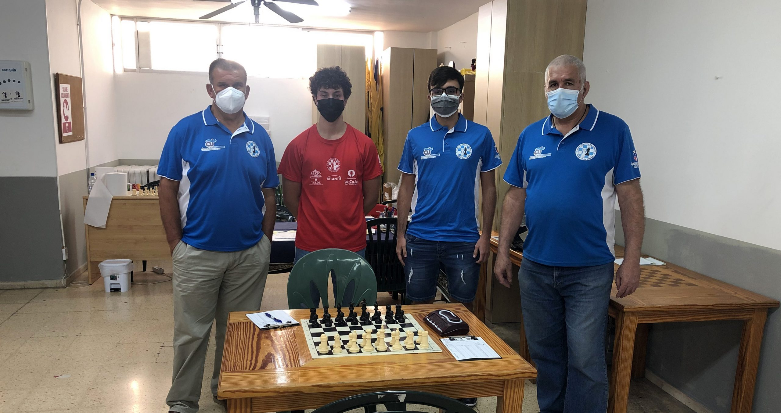 EL CLUB AJEDREZ TELDE-LOS LLANOS SUMA CUATRO VICTORIAS EN LA LIGA INSULAR POR EQUIPOS